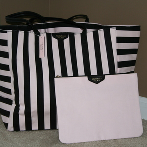 NWT Victoria's Secret Tote and Makeup Bag  is being swapped online for free