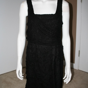 Express Lace Dress LBD Size 10  is being swapped online for free