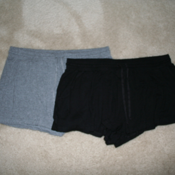 Lot of 2 Pairs H&M Cotton Drawstring Shorts Size M is being swapped online for free