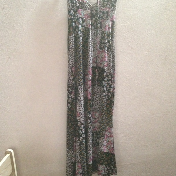 floral long dress is being swapped online for free