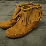 Brown Moccasin Boots  is being swapped online for free