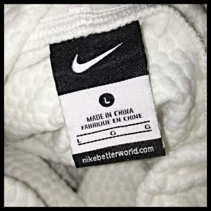 nike cowl neck thermal sweater  is being swapped online for free