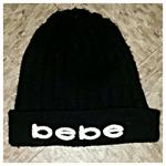 Black Bebe beanie is being swapped online for free