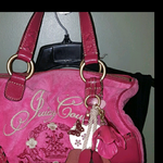 Juicy couture handbag authentic  is being swapped online for free