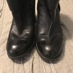 Nine West Kitrar Black Leather Booties 7.5 is being swapped online for free