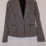 Kardashian Kollection houndstooth blazer XS is being swapped online for free