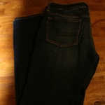 American Eagle AE Jeans Jeggings Indigo Size 12  is being swapped online for free
