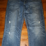 True Religion Stella Deconstructed Skinny Jeans Size 31 is being swapped online for free