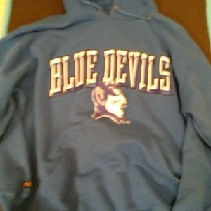 Blue Devils Sweatshirt is being swapped online for free