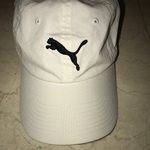 White Puma women's sized hat. Never been worn is being swapped online for free