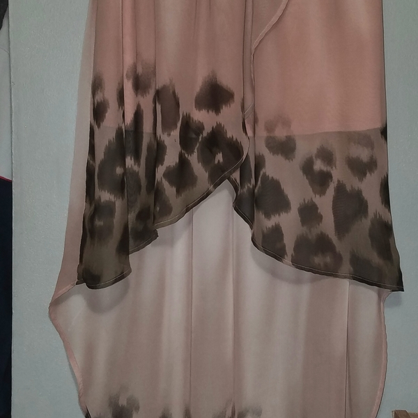 Hi Low Nude Skirt Sz S is being swapped online for free