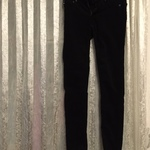 Women's Adriano Goldschmied black courduroy pants size 25R is being swapped online for free