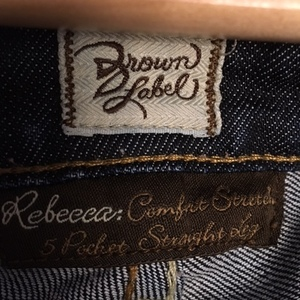 Women's Brown Label Jeans size 26 is being swapped online for free
