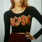 Forever 21 ACDC crop top bnwt is being swapped online for free