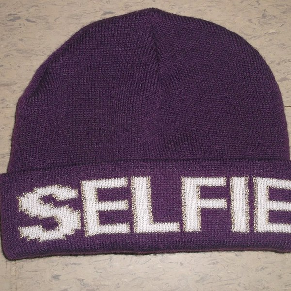 Selfie beenie hat  is being swapped online for free