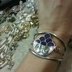 Vintage Apalca Mexico cuff bracelet is being swapped online for free
