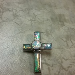 Sterling Opal cross pendant is being swapped online for free