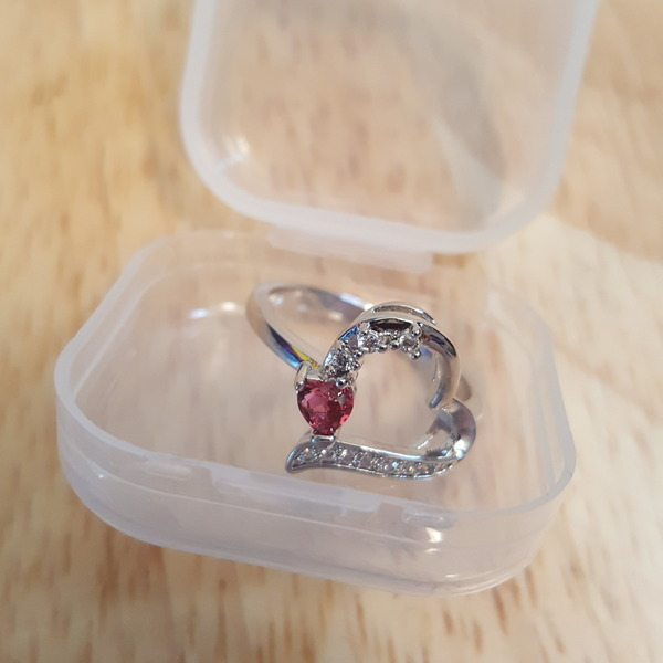 Sterling silver Size 8 Ring  is being swapped online for free