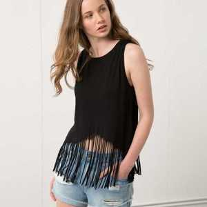 Bershka | Fringe Top is being swapped online for free