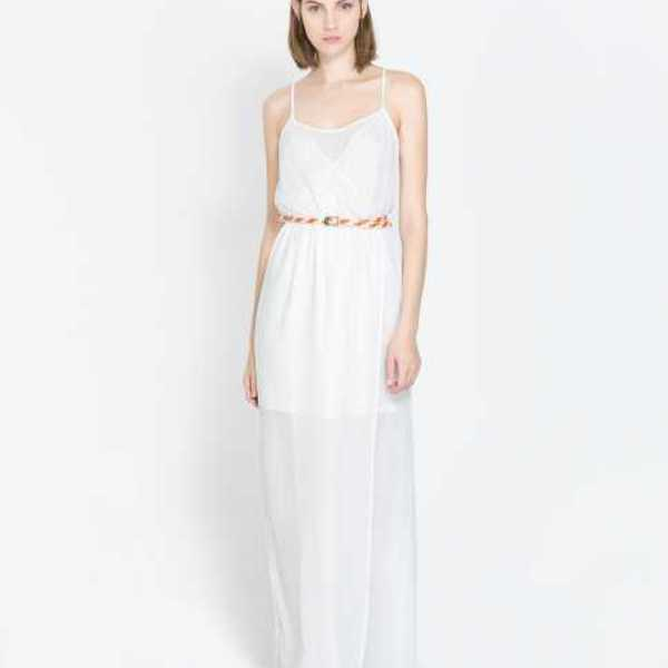 ZARA | Maxi White Dress is being swapped online for free
