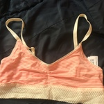 Pink striped bralette is being swapped online for free