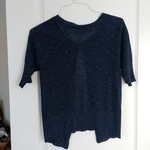 Blue Speckled Cardigan (Smart Set) is being swapped online for free