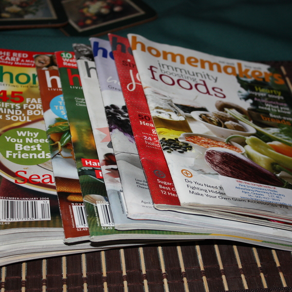 Homemaker magazines (12) is being swapped online for free