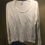Old Navy white top size small is being swapped online for free