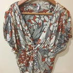 Fabulous Vintage 1930's Style Polyester Blouse is being swapped online for free