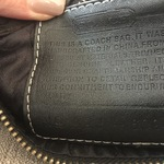 Coach Black small Purse is being swapped online for free