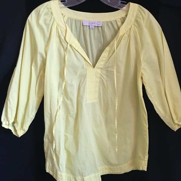 Ann Taylor Loft Peasant Blouse is being swapped online for free
