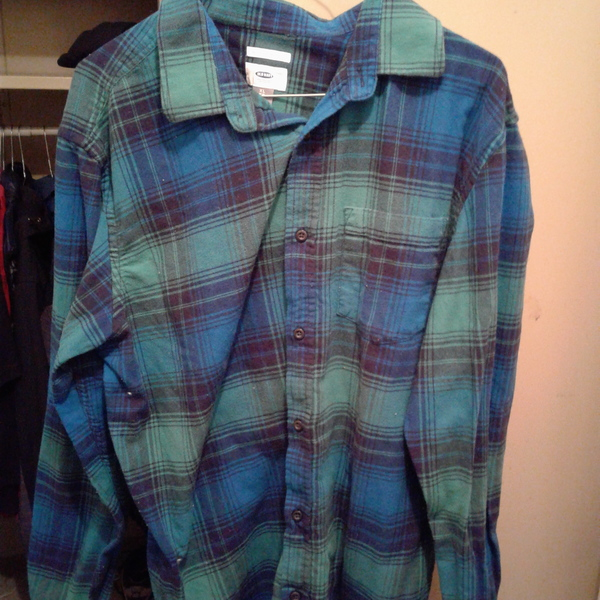 Old navy flanell is being swapped online for free