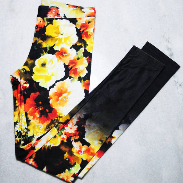 floral legging is being swapped online for free