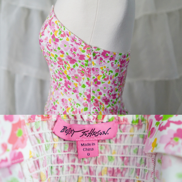 Betsey Johnson Floral Dress is being swapped online for free