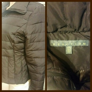 Kenneth Cole Reaction Puffer Jacket - M is being swapped online for free