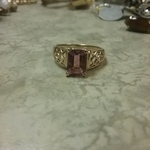 14kt gold Topaz Ring - 6 is being swapped online for free