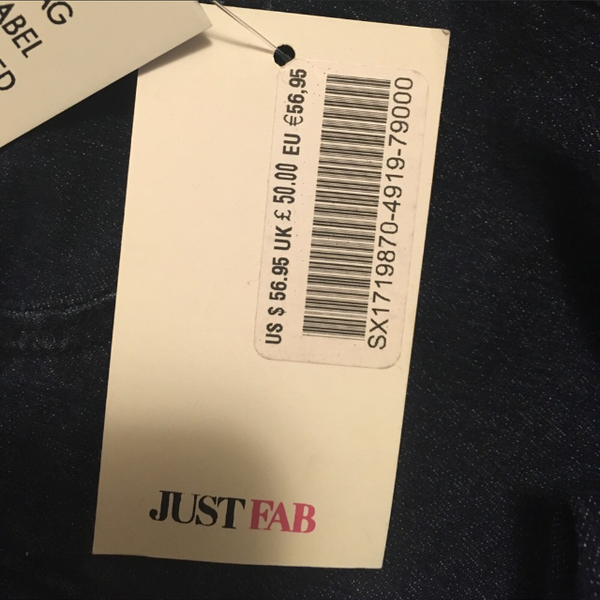 NWT Booty Lifting Jeans Size 24 is being swapped online for free
