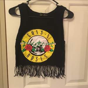 Guns N' Roses Crop Top XS is being swapped online for free