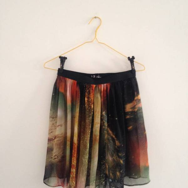 galaxy skirt is being swapped online for free