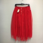 Forever 21 Red Pleated Tulle Skirt is being swapped online for free