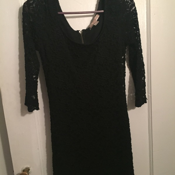 Black lace dress from forever 21 is being swapped online for free