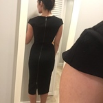 Zara XS black cocktail dress  is being swapped online for free
