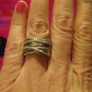 925 sterling and.diamond ring is being swapped online for free
