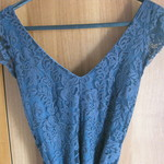 Deep Blue Spring Summer Lace Dress is being swapped online for free