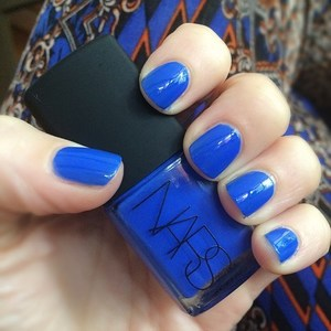 NARS  nail polish - Night Out (blue) full size is being swapped online for free