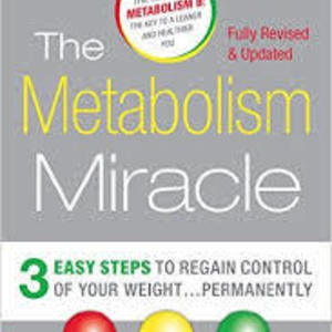Book - The Metabolism Miracle Soft cover, great condition is being swapped online for free