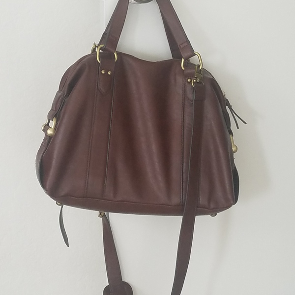 Brown purse  is being swapped online for free