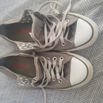 Gray converse chucks  is being swapped online for free