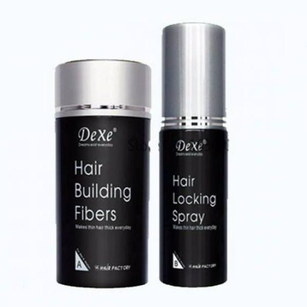 Brand New ! DEX building fibers for balding or thinning hair ( color Brown ) AWESOME ! is being swapped online for free
