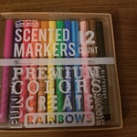 Scented Marker Set is being swapped online for free